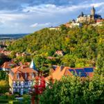 Ausblick auf das Schloss Wernigerode