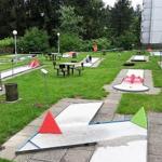 Minigolf Anlage im Ferienpark