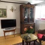 Wohnzimmer mit antikem Mobiliar