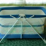 Kleinkindreisebett wird auf Wunsch bereit gestellt