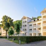 Aparthotel Ostsee FeWo F06: 2-Raum, 4 Pers., Balkon, Meerblick - Binz