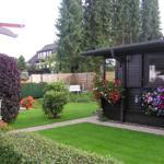 das mit zu nutzende Gartenhaus