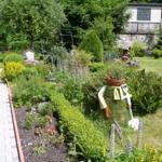 Garten mit