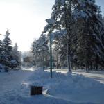 Winterlandschaft Ferienpark Glockenberg