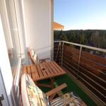 Balkon mit Westlage