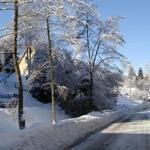 Die Kleine Oker im Winter