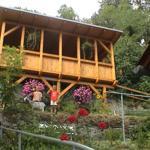 Pavillon Außenansicht