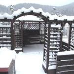 Terassen-Freisitz im Winter