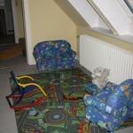 Kinderspielecke im Wohn-/Schlafzimmer Obergeschoss
