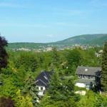 Ein herrlicher Blick von dem Balkon auf die Stadt und die Harzberge- Bad Harzburg liegt Ihnen zu Füßen
