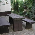 Sitzgruppe Vorgarten