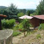 Bungalow C - Garten mit Sommerhäuschen
