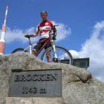 Mit dem MTB auf den Brocken - 1142 m!