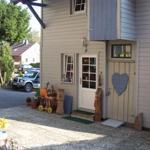 Eingang für die Lodge