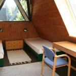 Schlafzimmer im Giebel