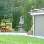 Grillplatz im eigenen Garten