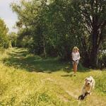 Spaziergang zwischen den Seen