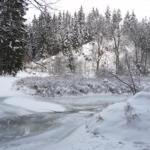 Die Innerste im Winter