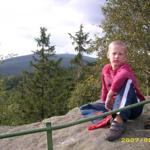 Wanderung zu den Arensklinter Klippen mit herrlicher Aussicht auf den Ort und auf den Brocken