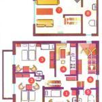 Wohnung-Grundriss