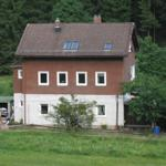 Haus Waldesruh vordere Ansicht