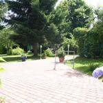 Garten-Hofbereich