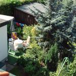Der wunderschöne Garten mit Terrasse