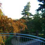 großer Balkon mit gigantischer Aussicht