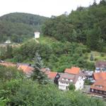 Blick auf den Zorger Glockenturm