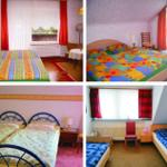 3 Schlafzimmer mit Balkon und 1 Zweibettzimmer