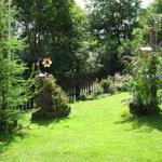 Blick in den Vordergarten