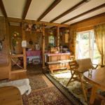 Gartenhaus Innenansicht