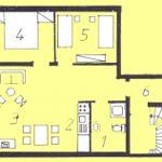 Grundriss Wohnung Birgit