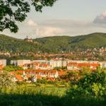 Nahgelegene Aussicht auf Wernigerode