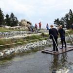 Der Speichersee auf dem Wurmberggipfel - jetzt mit neuer Wassererlebniswelt.