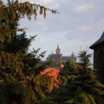Blick zum Wernigeröder Schloß