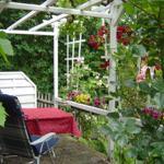 Die Gartenterrasse
