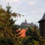 Blick auf das Wernigeröder Schloß