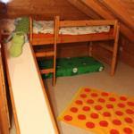 Das liebevoll eingerichtete Kinderzimmer