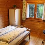 Das Doppelbett im EG mit schönem Ausblick