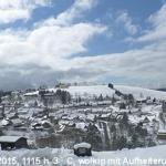 Blick auf den Wintersport-Ort :-)