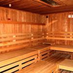 Teil des Saunabereiches