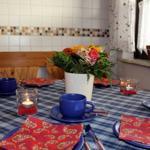 Essbereich in der Wohnküche