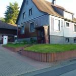 Das Harzhaus - die Front.