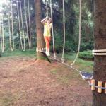 Neue Attraktion im Ferienpark: Der Niedrigseilgarten