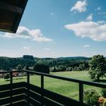 Blick Vom Balkon auf die Hohegeißer