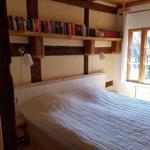 Doppelbett (180 x200 cm) im Schlafzimmer- Erdgeschoss total beguem und ruhig