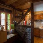 Einblick in die kleine aber feine Küche im 1.OG