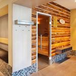 schicker SPA Bereich mit Sauna im Vital Hotel