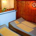 Ruheraum der hauseigenen Sauna.